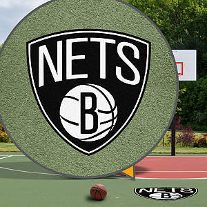 Brooklyn Nets Street Grip  Outdoor Graphic